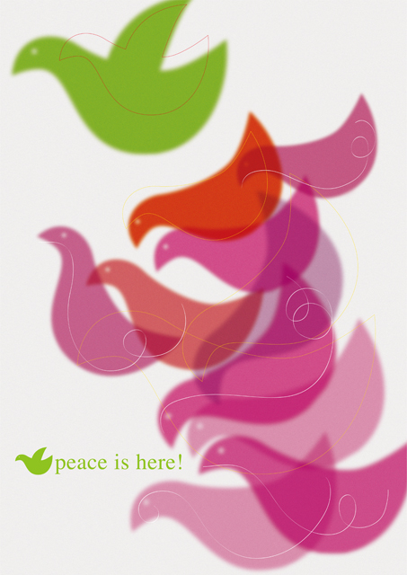 peace is here!(B全 ポスター 2006)
